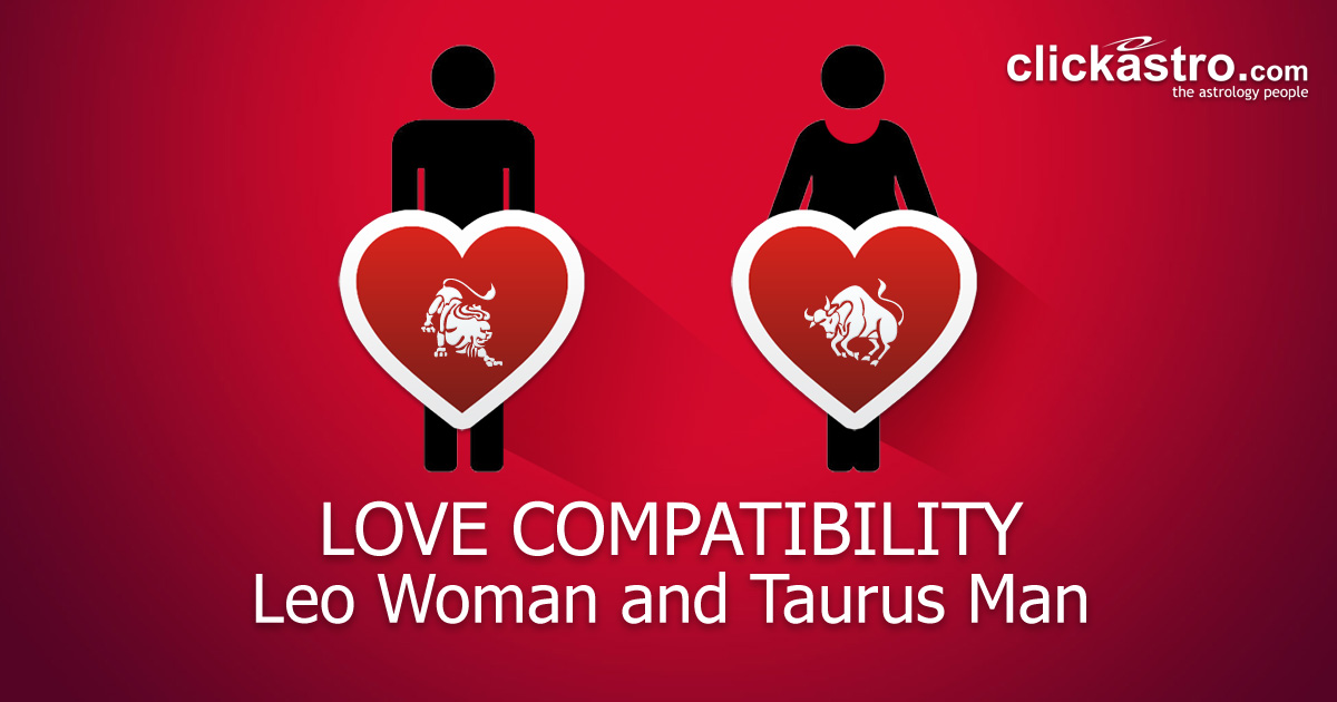 Leo Woman and Taurus Man - Love Compatibility from