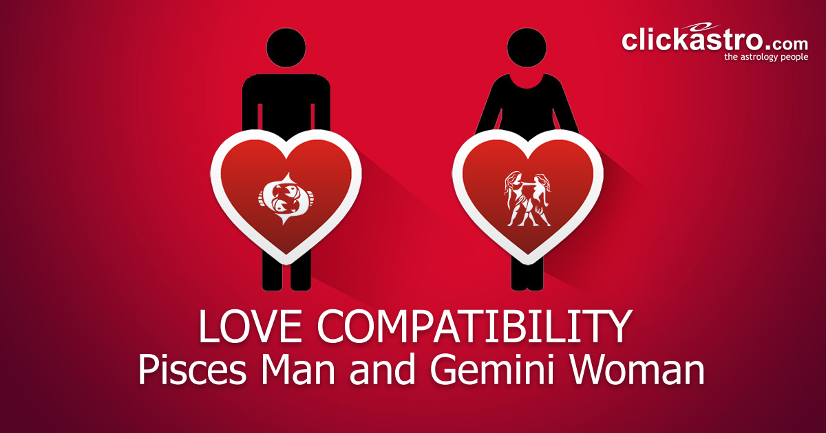 Pisces Man and Gemini Woman - Love Compatibility from