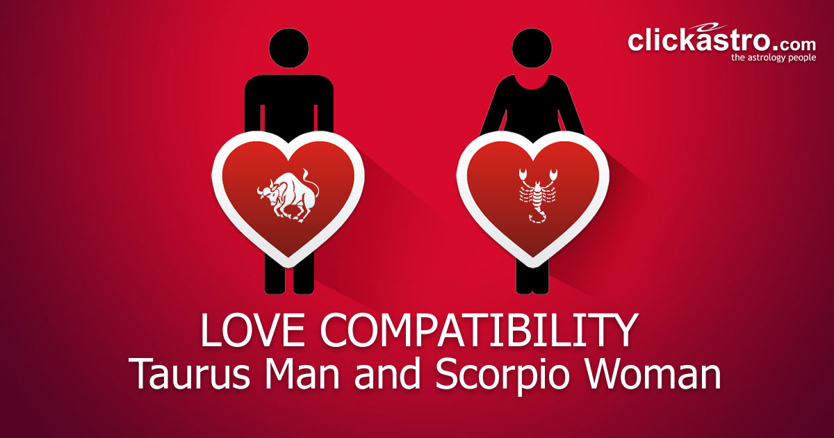 Taurus Man and Scorpio Woman - Love Compatibility from