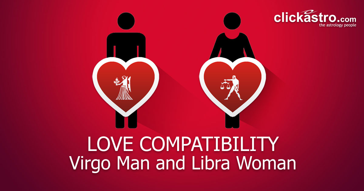 Virgo Man and Libra Woman - Love Compatibility from