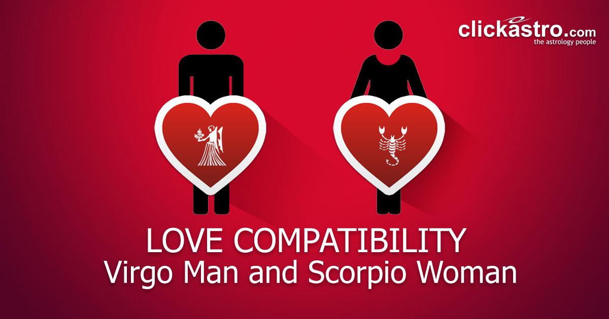 Scorpio compatibility female virgo male Scorpio Man